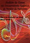 Audição de Classes no Conservatório Regional de Música de Ferreirim