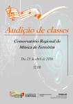 Audição de Classes - Conservatório Regional de Música de Ferreirim