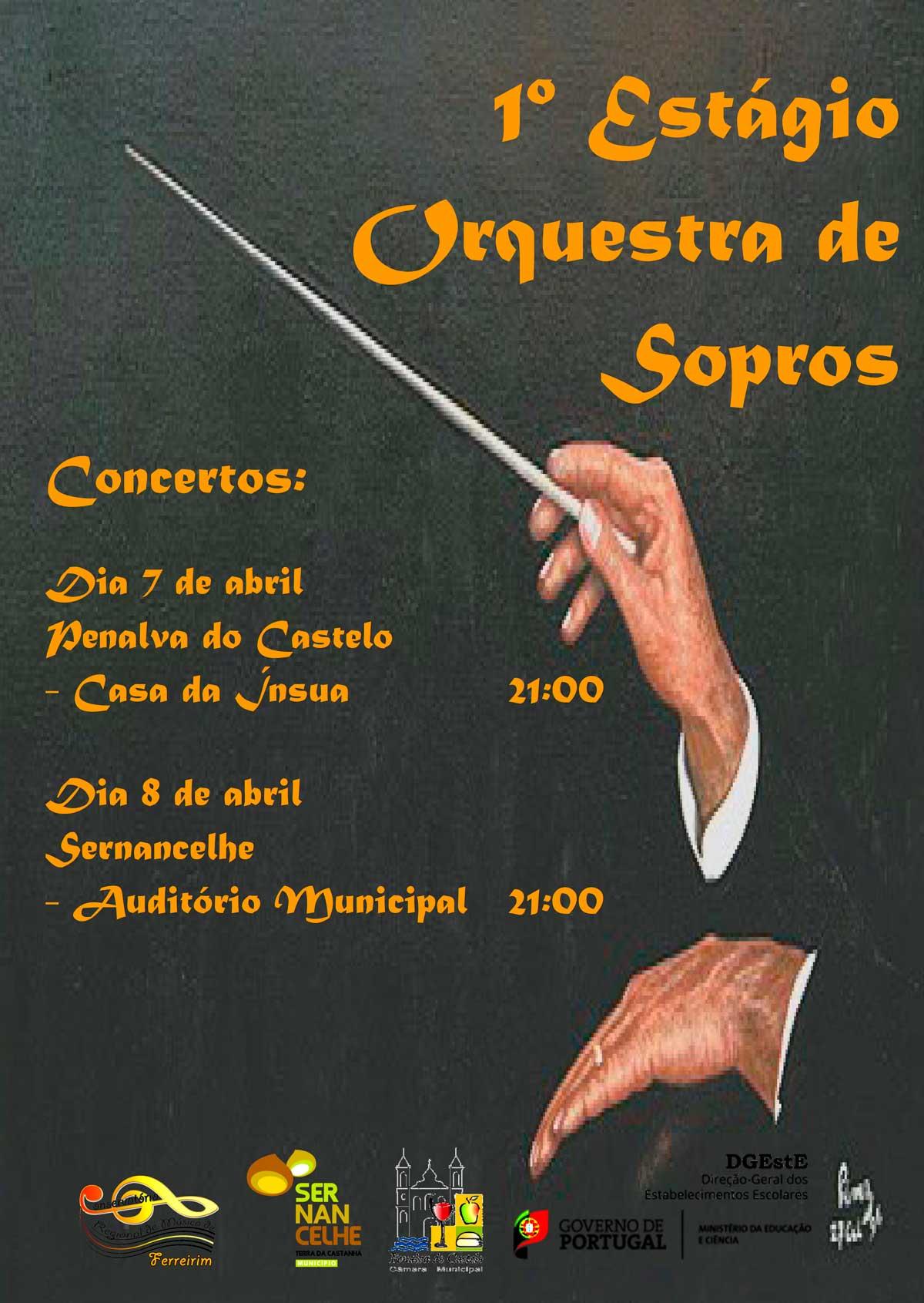 1º Estágio Orquesta de Sopros